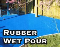 Rubber Wet Pour