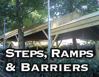Steps, Ramps and Barriers