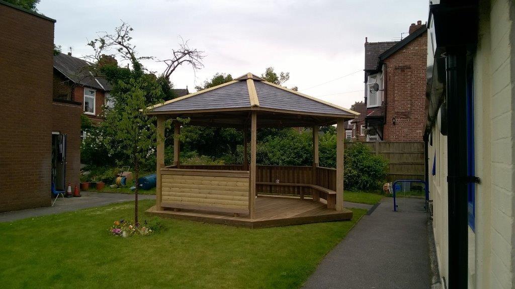 Outdoor Classroom Near Stonehouse Greenfields Garden
