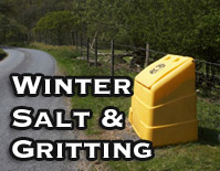 Winter Salt and Gritting